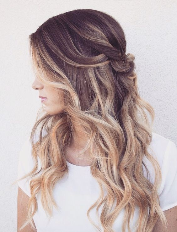 Balayage Long Hairstyles - Gorgeous Hair Color