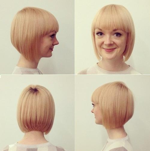 how to cut a graduated bob