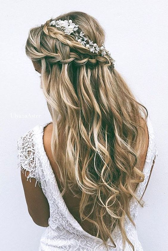 Bridal Hair Styles for Wedding - Half Up Half Down Hairstyles