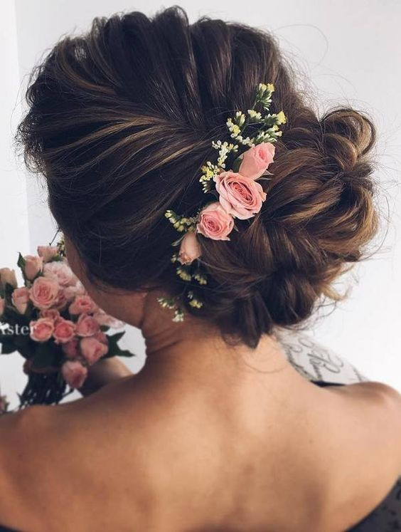 10 beautiful wedding hairstyles for brides femininity bridal chic updo hairstyles for wedding bridal hair styles junglespirit Gallery