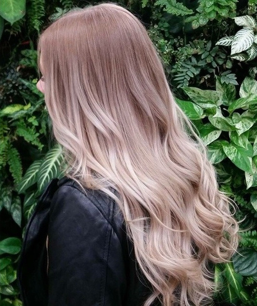 Coconut Ombre Hairstyle