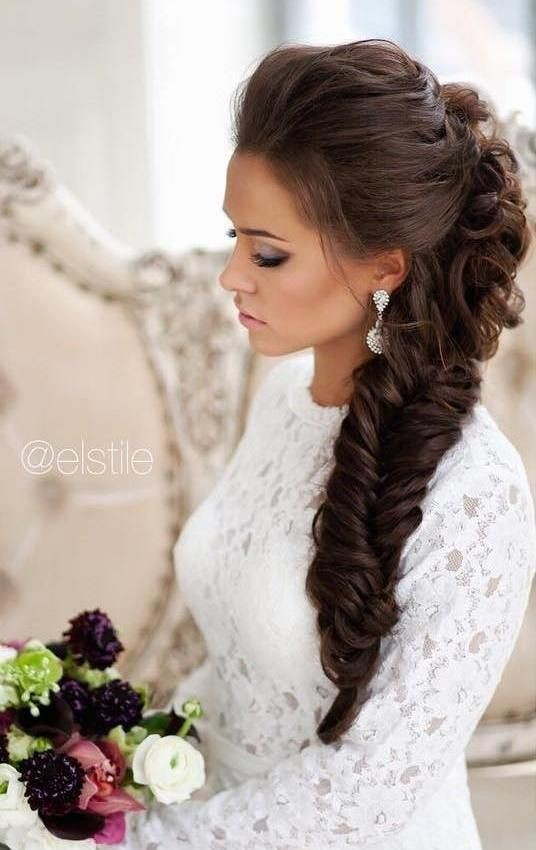 10 Pretty Braided Hairstyles For Wedding Wedding Hair Styles