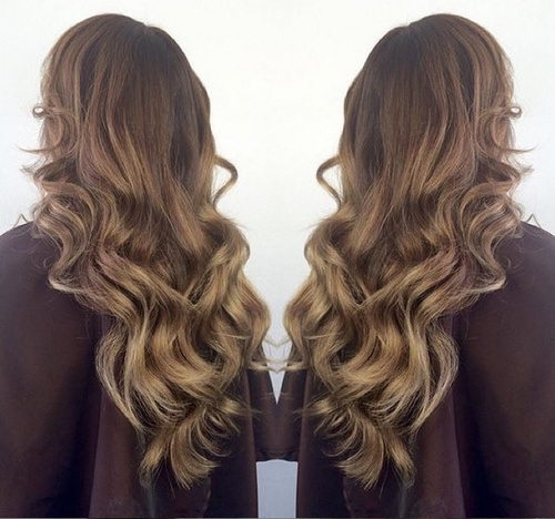 Golden Ombre Hairstyle