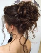 Messy Updo Hairstyles for Wedding - Bridal Hairstyle Designs