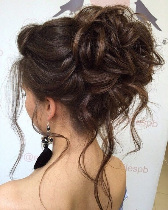 10 beautiful updo hairstyles for weddings classic bride hair styles messy updo hairstyles for wedding bridal hairstyle designs junglespirit Images