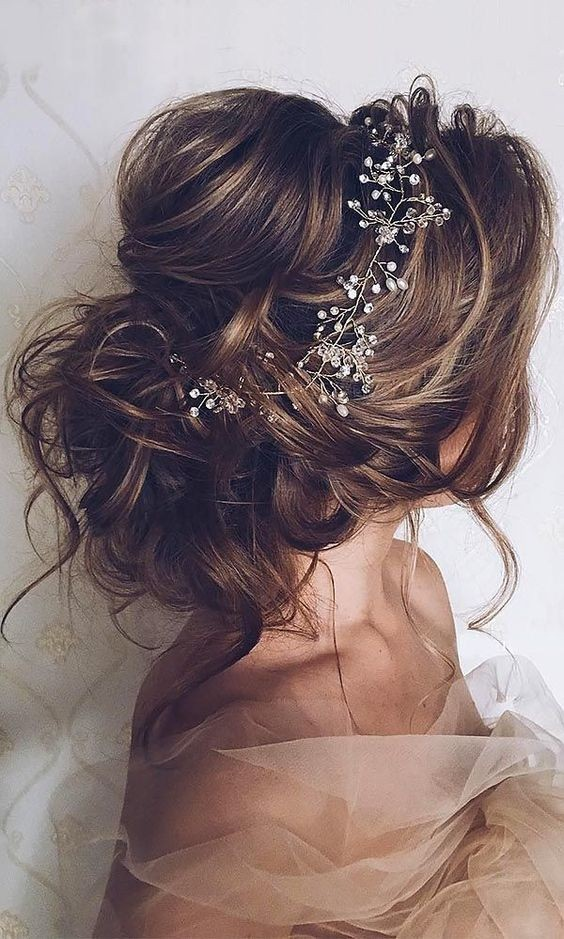 10 beautiful wedding hairstyles for brides femininity bridal most romantic bridal updo hairstyles wedding hairstyle designs junglespirit Gallery