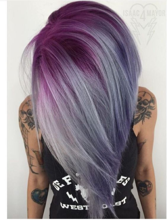 10 pretty pastel hair color ideas with blonde silver