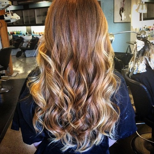 Ombre Hair with Highlights