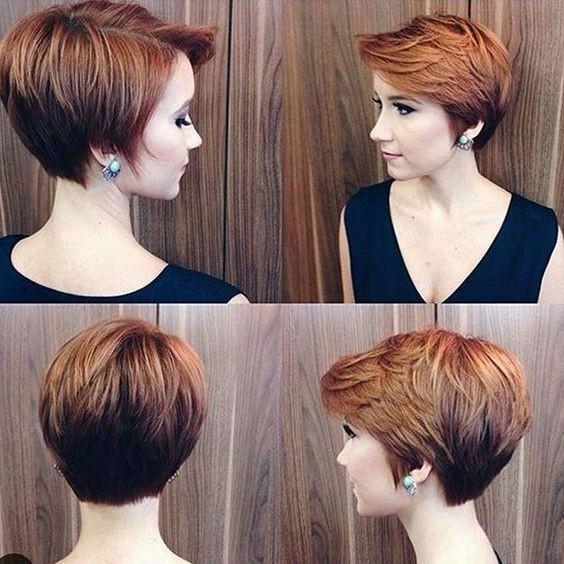 10 Easy, Women Short Hairstyles Inspiration 2017: Stylish
