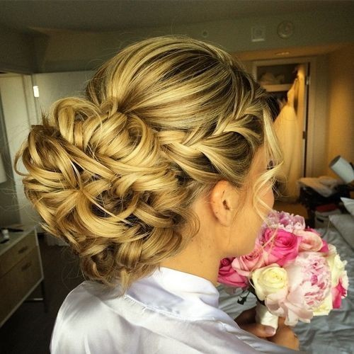 Braid Hairstyles For Wedding Party: 10 Beautiful Updo Hairstyles For Weddings 2020