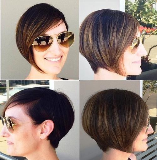 20 Chic And Trendy Ways To Style Your Graduated Bob