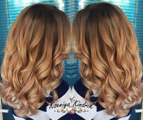 Soft Blonde Curls