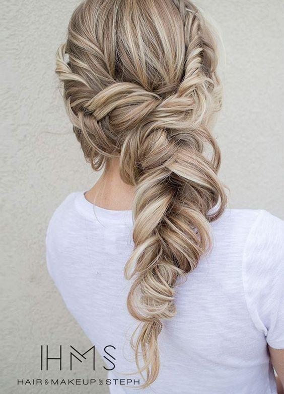 10 Pretty Braided Hairstyles for Wedding - Wedding Hair ...