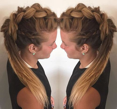 20 Faux Hawk inspirierte Frisuren