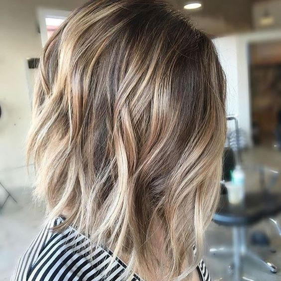 Layered Long Bob Hairstyles For Thick Hair 57