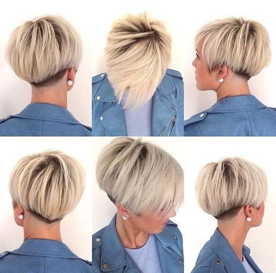 30 best short hairstyles for fine hair popular haircuts. Black Bedroom Furniture Sets. Home Design Ideas