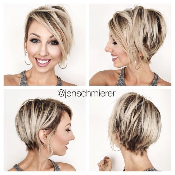 Blonde, Layered pixie Haircut - Women Short Hairstyle Designs