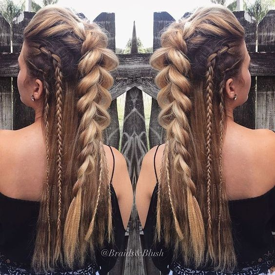 Braided Hairstyle Designs - Long Hair Styles