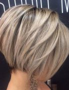 Hottest Short Bob Haircut for Thick Hair - Balayage Short Hairstyles