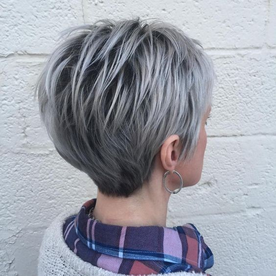 Layered Short Haircuts for Fine Hair - Ombre Short Hairstyles for Women