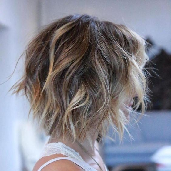 10 Stylish Messy Short Hair Cuts 2020