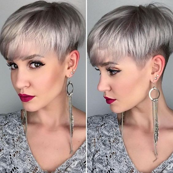 Pixie Hair Cuts - Undercut for Women Short Hair