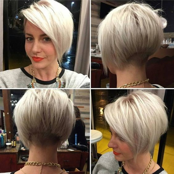 Pretty Short Bob Haircut For Fine Hair Women Hair Styles