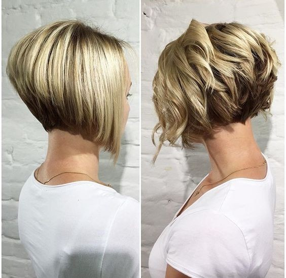 20 trendy stacked hairstyles for short hair practicality - Moderne haarschnitte 2017 ...