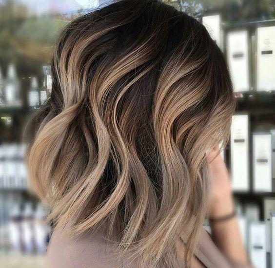 10 stilvolle Haarfarbe Ideen: Ombre und Balayage Frisuren