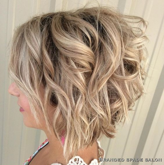 Short Curly Bob Hair Cuts Designs