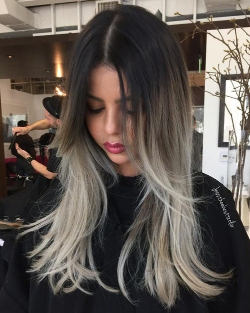 18 Winter Hair Color Ideas 2020 Ombre Balayage Hair Styles