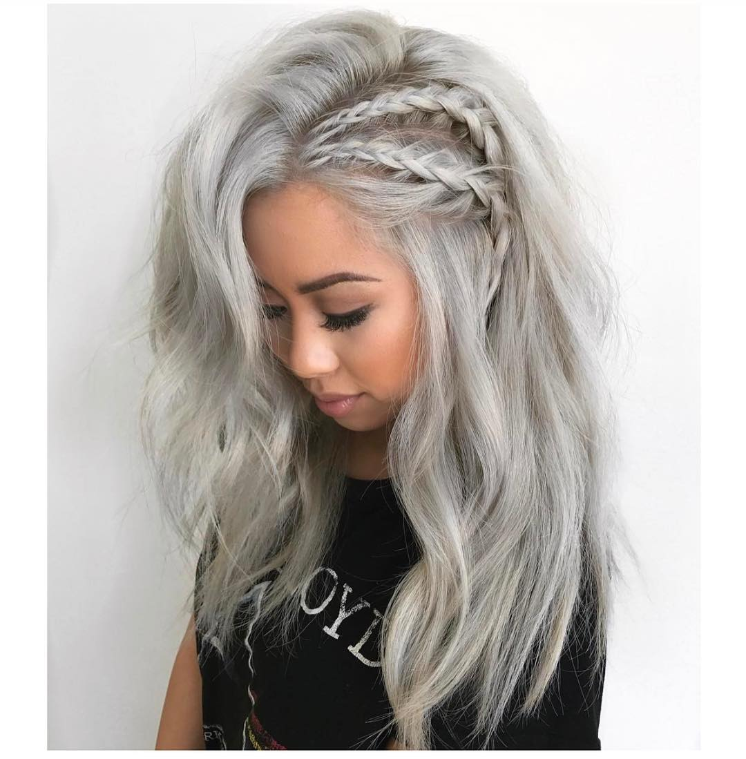20 Adorable Ash Blonde Hairstyles To Try: Hair Color Ideas