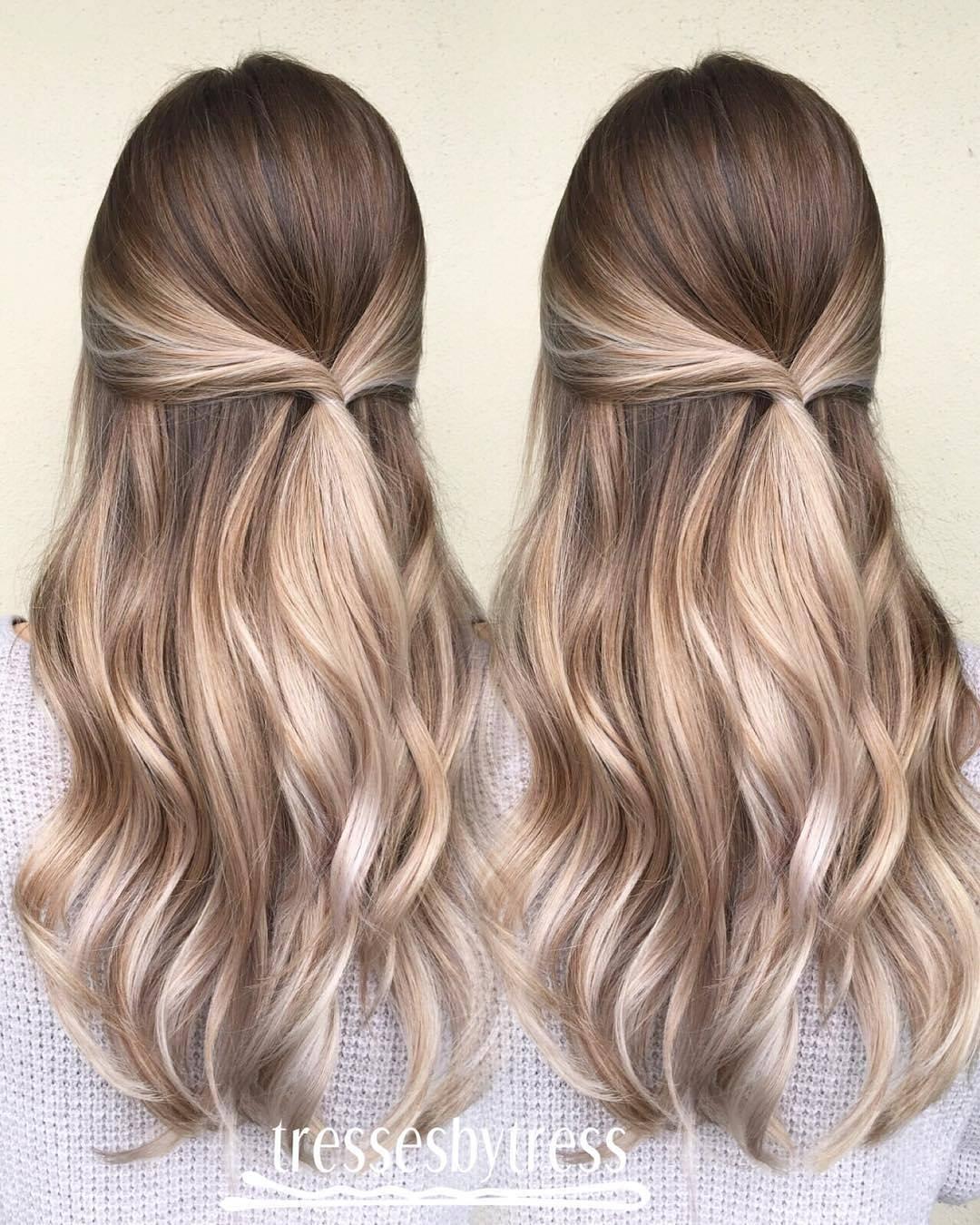 20 schöne blonde Balayage Haarfarbe Ideen