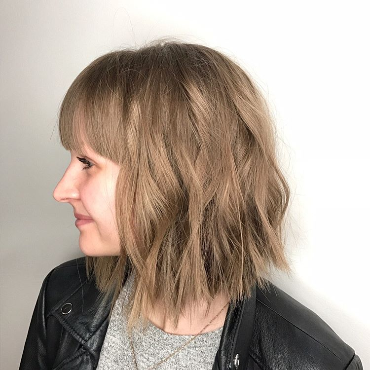 Medium Length Blunt Haircuts For Women 74