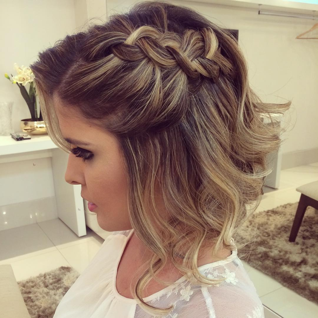 20 gorgeous prom hairstyle designs for short hair: prom hairstyles