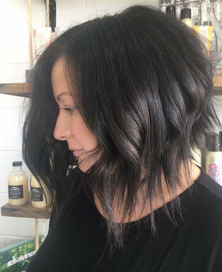 10 Lob Haircut Ideen - Edgy Cuts & Heiße Neue Farben