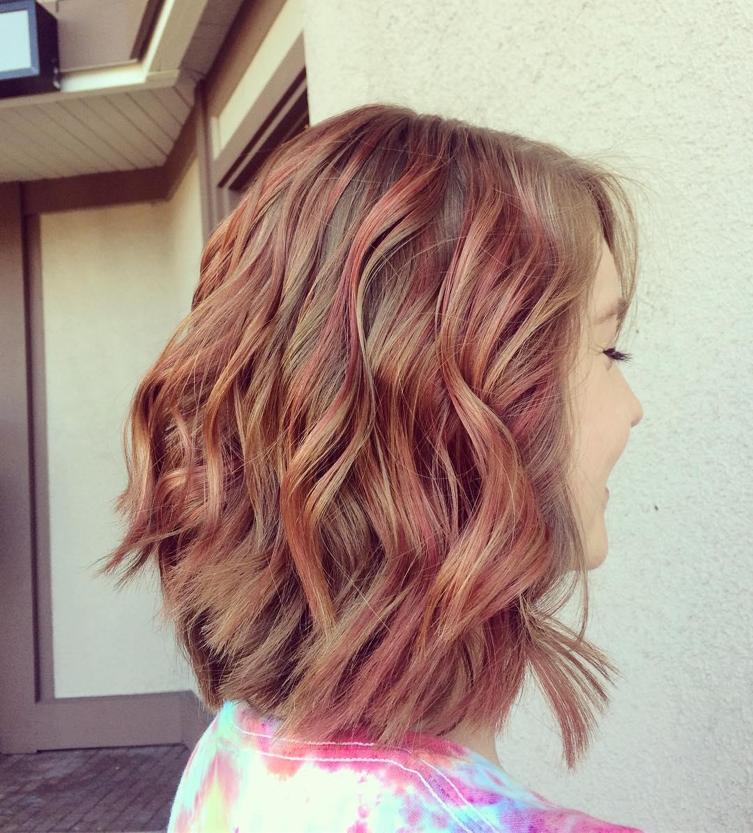 10 lob haircut ideas - edgy cuts & hot new colors - popular haircuts
