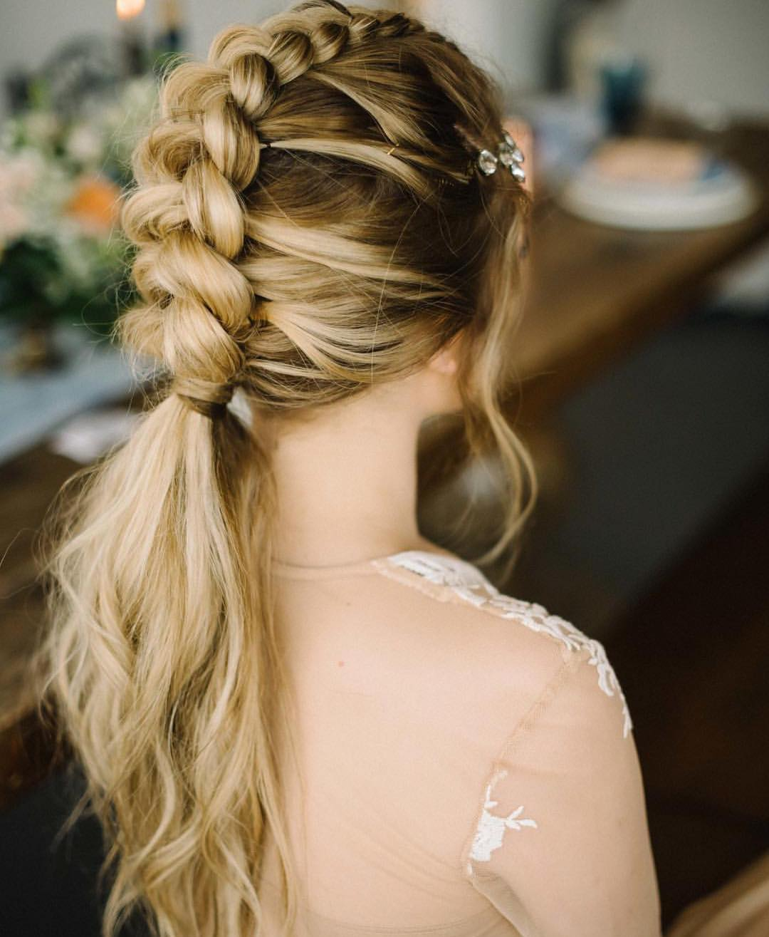 Hairstyles For Girls For Wedding: 10 Braided Hairstyles For Long Hair