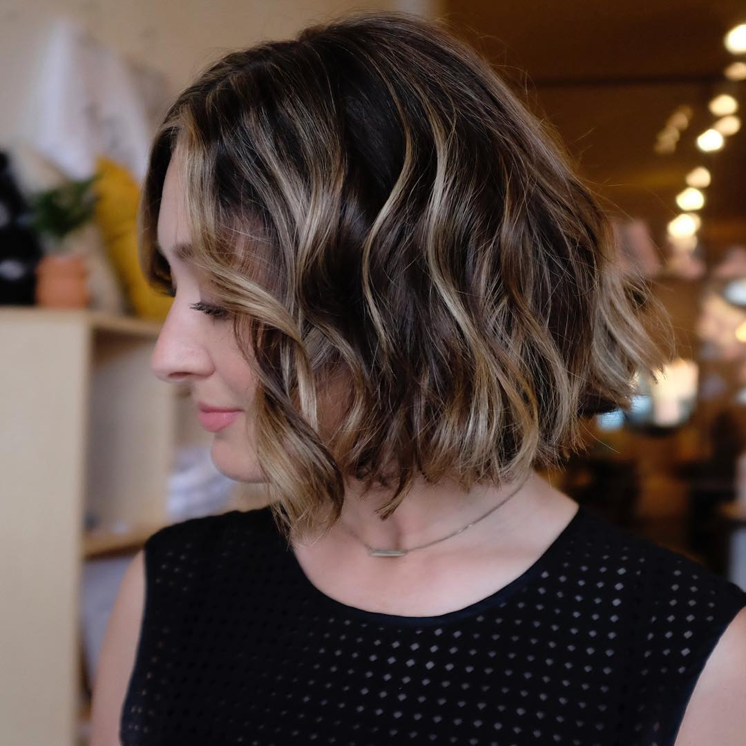 10 beautiful medium bob haircuts &edgy looks: shoulder length