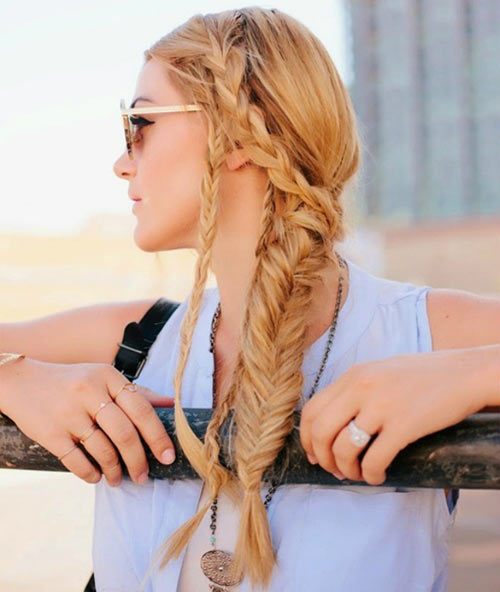 Best Braided Hairstyles - Women Braided Hair Style Ideas