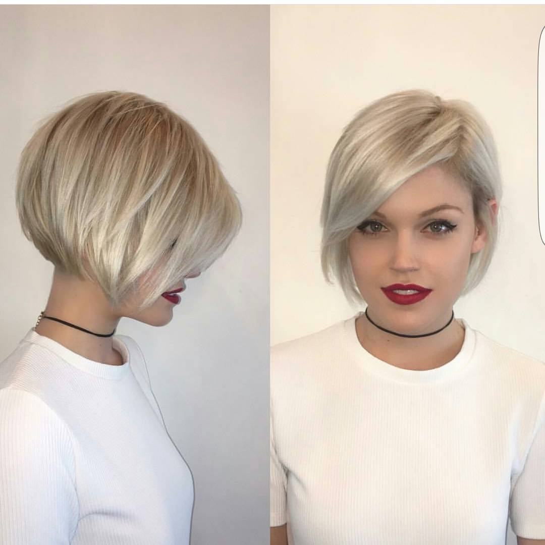 10 modern bob haircuts for well groomed women short hairstyles 2018. Black Bedroom Furniture Sets. Home Design Ideas