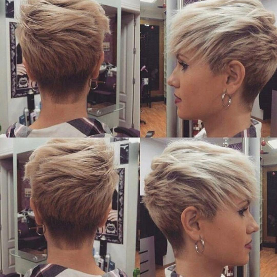10 short haircuts for fine hair 2018: great looks from office to beach!