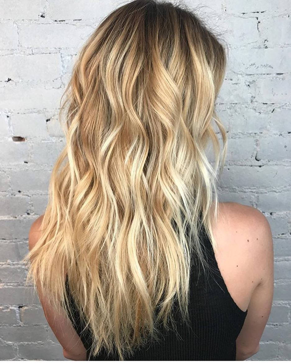 layered hairstyles and cuts for long hair - women haircut ideas