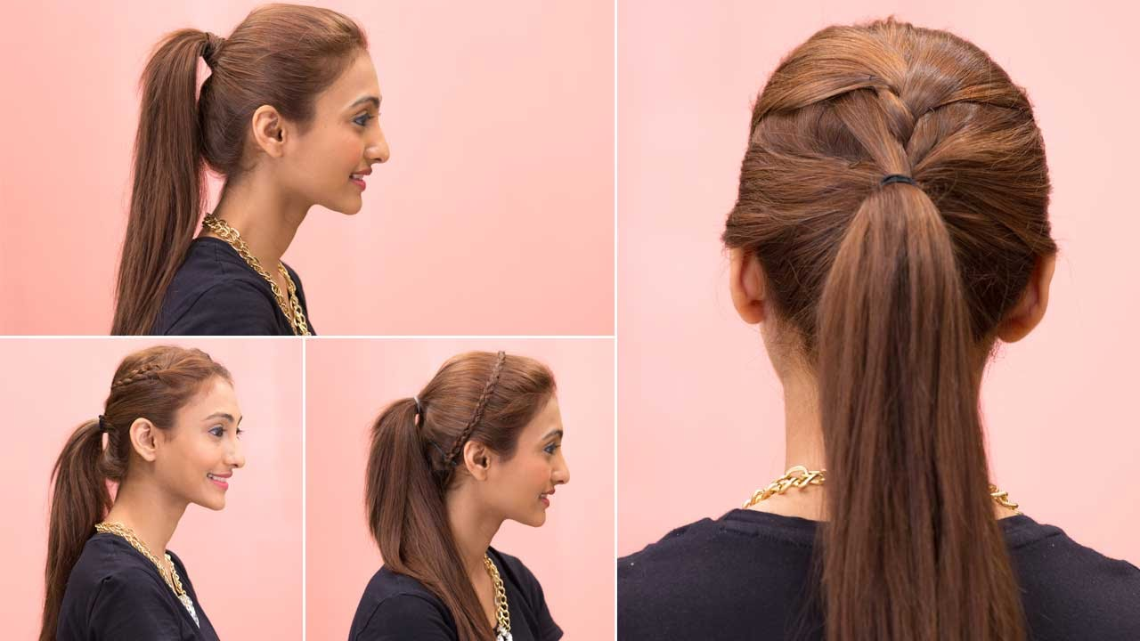 best way to style hair easy ponytail hairstyles for hair step by hairstyles 7154