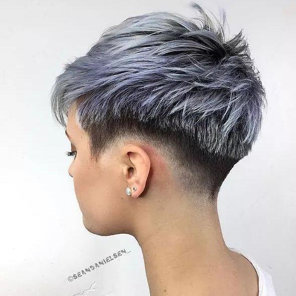 Stylish Choppy Haircuts for Short Hair - Women Short Hairstyle Ideas