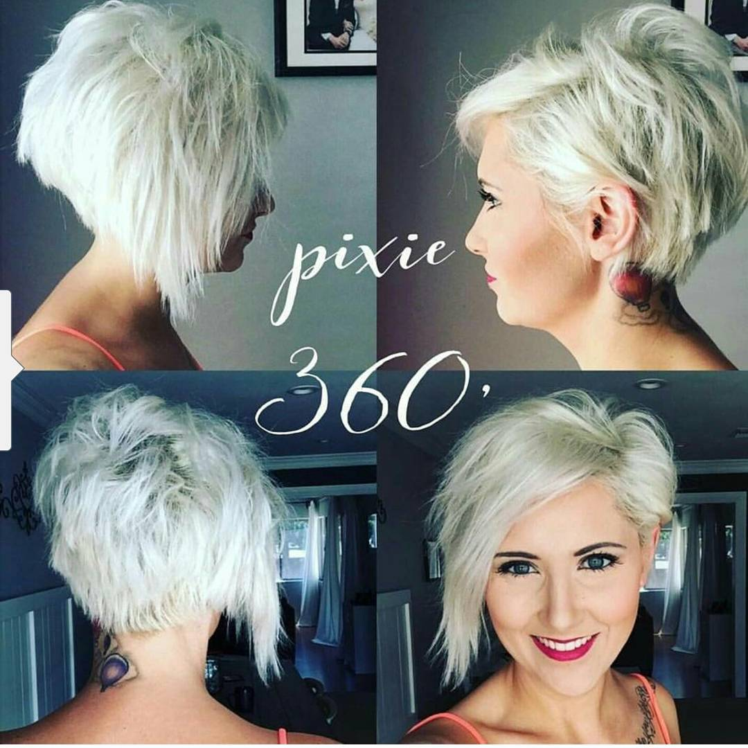 10 Choppy Haircuts For Short Hair In Crazy Colors 2020