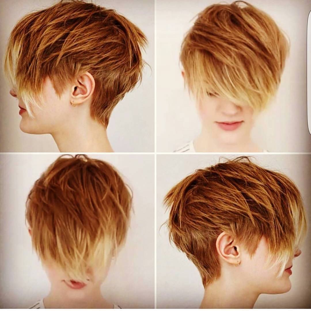 Stylish Choppy Haircuts For Short Hair Women Hairstyle Ideas