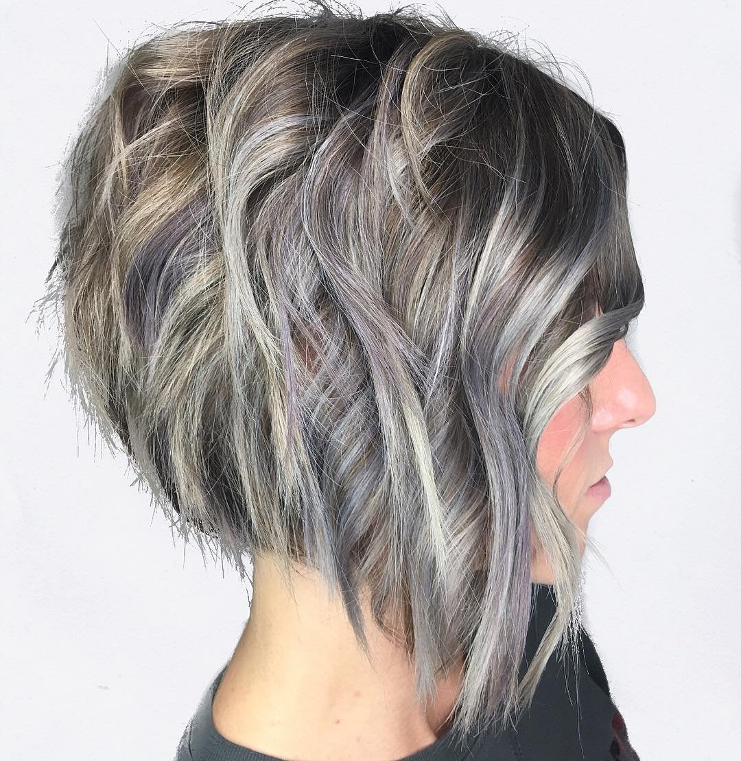 10 beste kurze Frisuren für dickes Haar in Fab New Color Combos