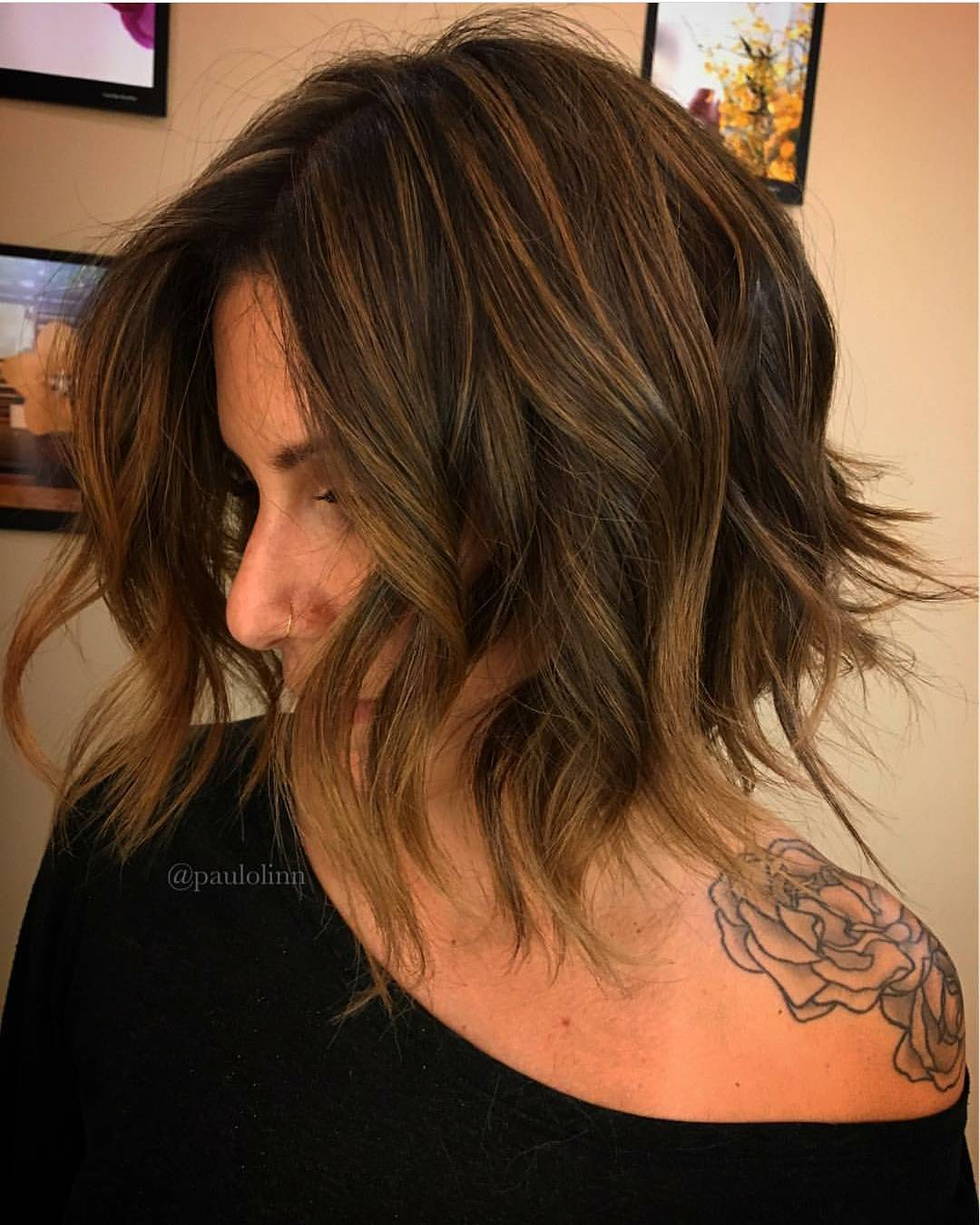styling neck length hair neck length hairstyles for trend hairstyle and 7056