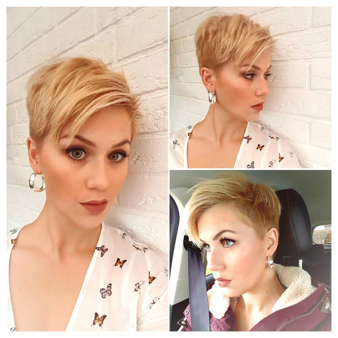 10 short hairstyles for women over 40 - pixie haircuts 2018